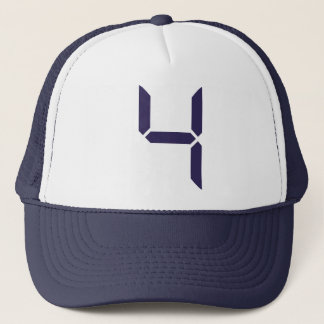 Number - Four - 4 Trucker Hat