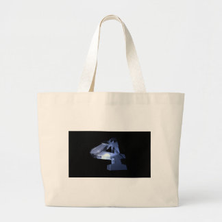 number-Four Large Tote Bag