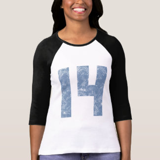 Number Fourteen 14th Birthday Gifts T-Shirt