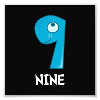Number Nine Photograph