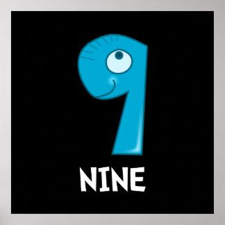Number Nine Poster