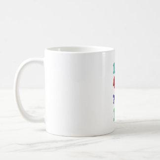Number, nursery number coffee mug