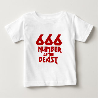Number of the Beast Baby T-Shirt