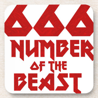 Number of the Beast Coaster