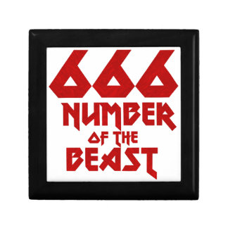 Number of the Beast Gift Box