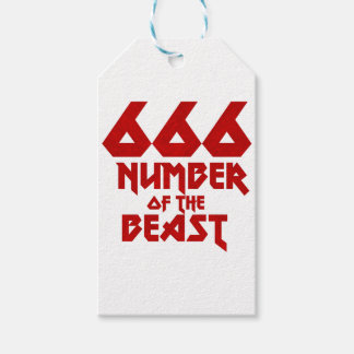 Number of the Beast Gift Tags