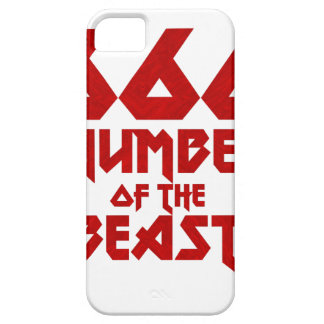 Number of the Beast iPhone 5 Case