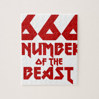 Number of the Beast Jigsaw Puzzle