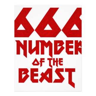 Number of the Beast Letterhead