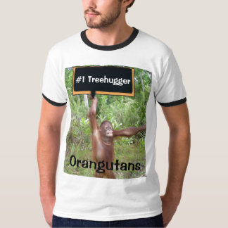 Number One #1 Treehugger Orangutan T-Shirt
