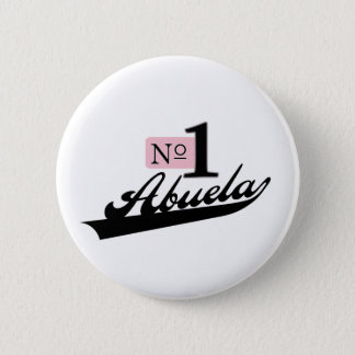 Number One Abuela 2 Inch Round Button