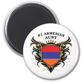 Number One Armenian Aunt Magnet