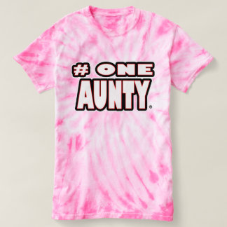 Number One Aunty Worded T-Shirts