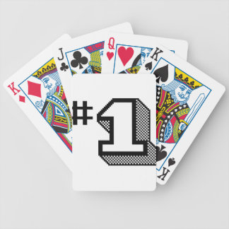 Number One Bicycle Playing Cards