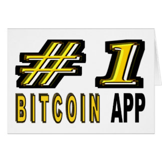 Number One Bitcoin App Card