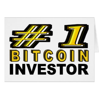 Number One Bitcoin Investor Card