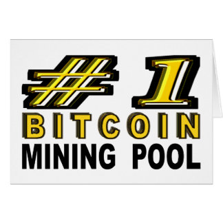 Number One Bitcoin Mining Pool Card