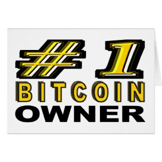 Number One Bitcoin Owner Card
