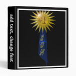 Number One Blue Ribbon For Son Vinyl Binders