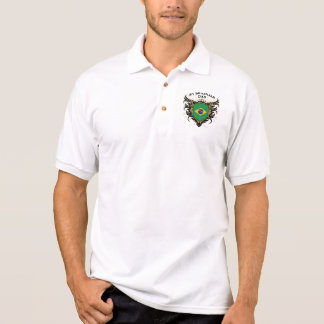 Number One Brazilian Dad Polo Shirt