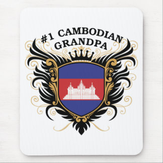 Number One Cambodian Grandpa Mouse Pad
