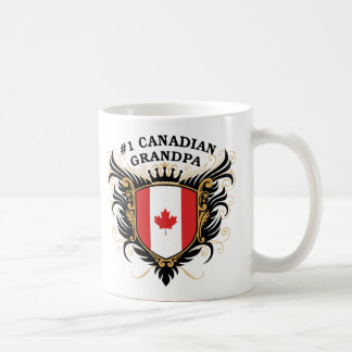 Number One Canadian Grandpa Coffee Mug