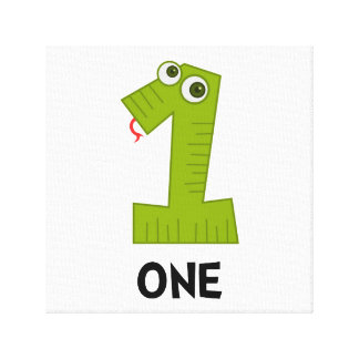 Number One Canvas Prints