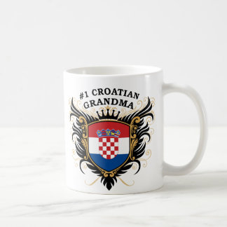 Number One Croatian Grandma Coffee Mug