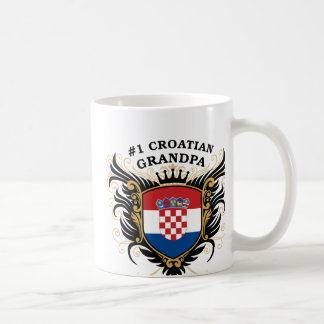Number One Croatian Grandpa Coffee Mug