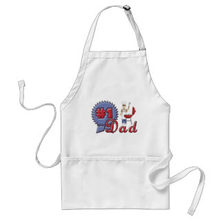 Number One Dad Apron