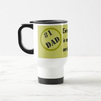 Number one Dad Travel Mug
