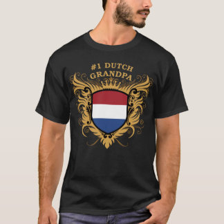 Number One Dutch Grandpa T-Shirt