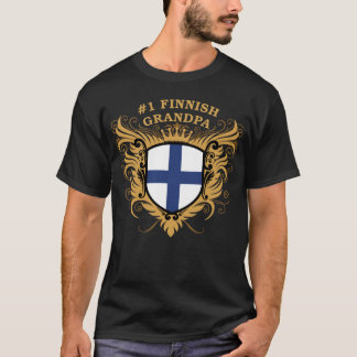 Number One Finnish Grandpa T-Shirt