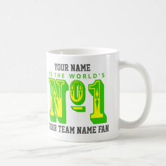 Number One Football Fan Coffee Mug