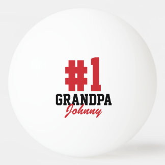 Number One Grandpa Father's Day Ping Pong Balls Ping-Pong Ball