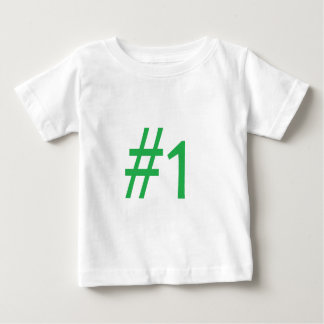 number one- green t-shirts
