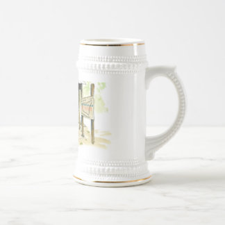 number one icon 18 oz beer stein