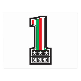 Number One In Burundi Postcard