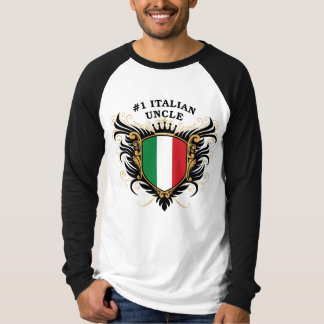 Number One Italian Uncle T-Shirt