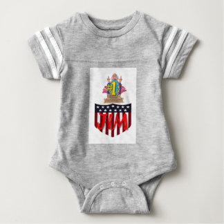 Number One jim Baby Bodysuit