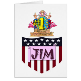Number One Jim Card