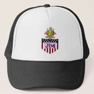 Number One Jim Trucker Hat