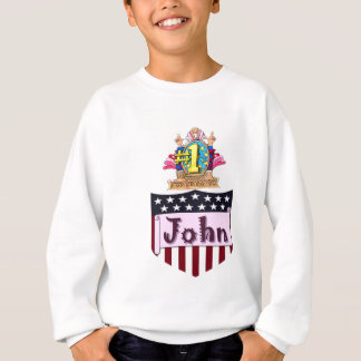 Number One John Sweatshirt