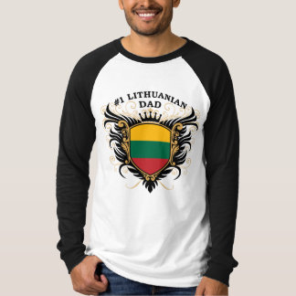 Number One Lithuanian Dad T-Shirt