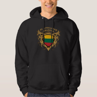 Number One Lithuanian Grandpa Hoodie