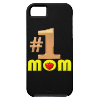 Number One Mom Case For The iPhone 5