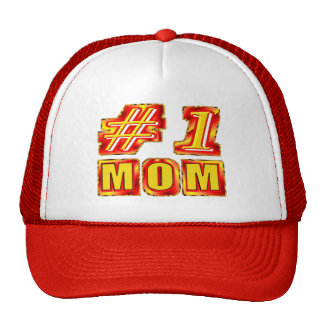 Number One Mom Hats