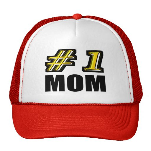 Number One Mom Hat
