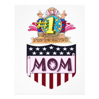 Number One Mom Letterhead