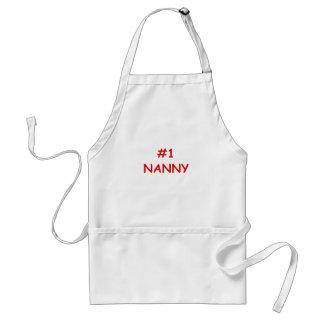 Number One Nanny Standard Apron